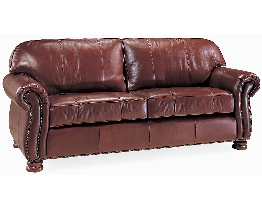 benjamin 2 seat sofa leather thomasville furniture. Black Bedroom Furniture Sets. Home Design Ideas
