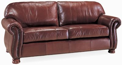 Exceptional Benjamin 2 Seat Sofa (Leather)