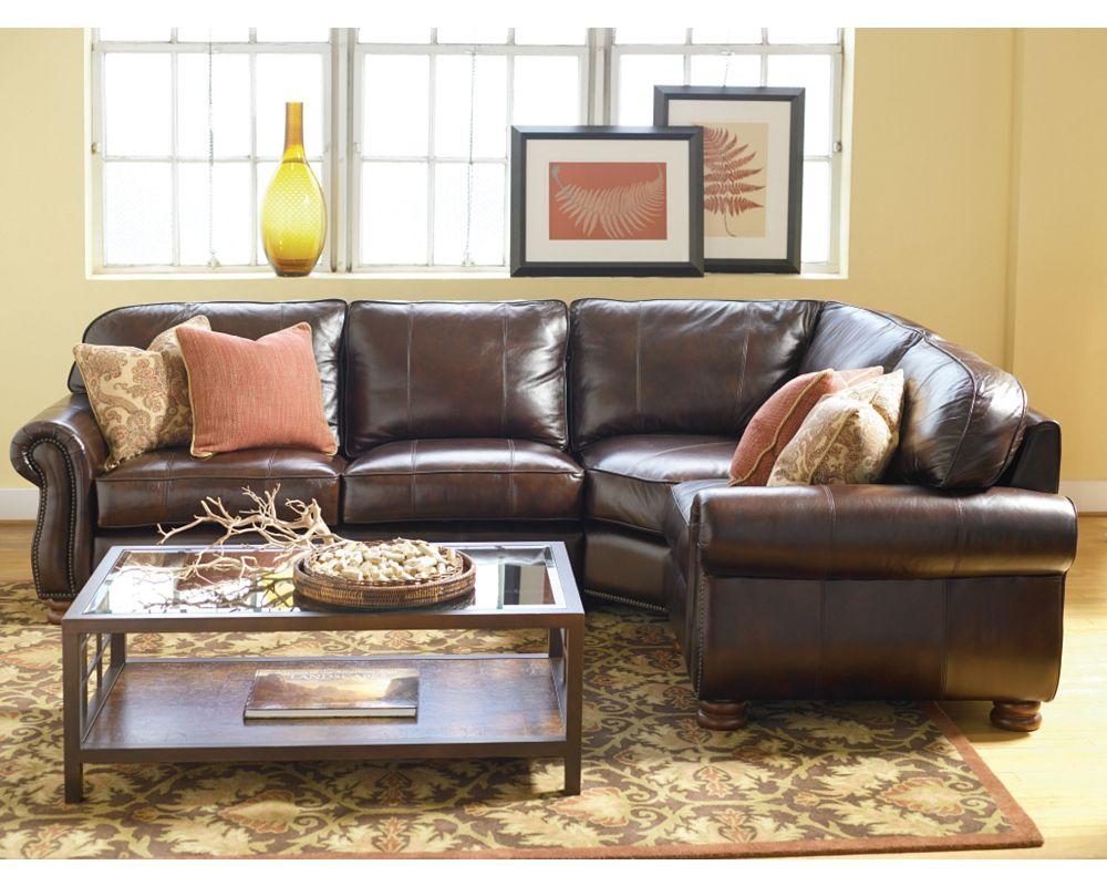 Thomasville benjamin sofa benjamin motion sofa 20901 340a for Thomasville sectional sofa leather