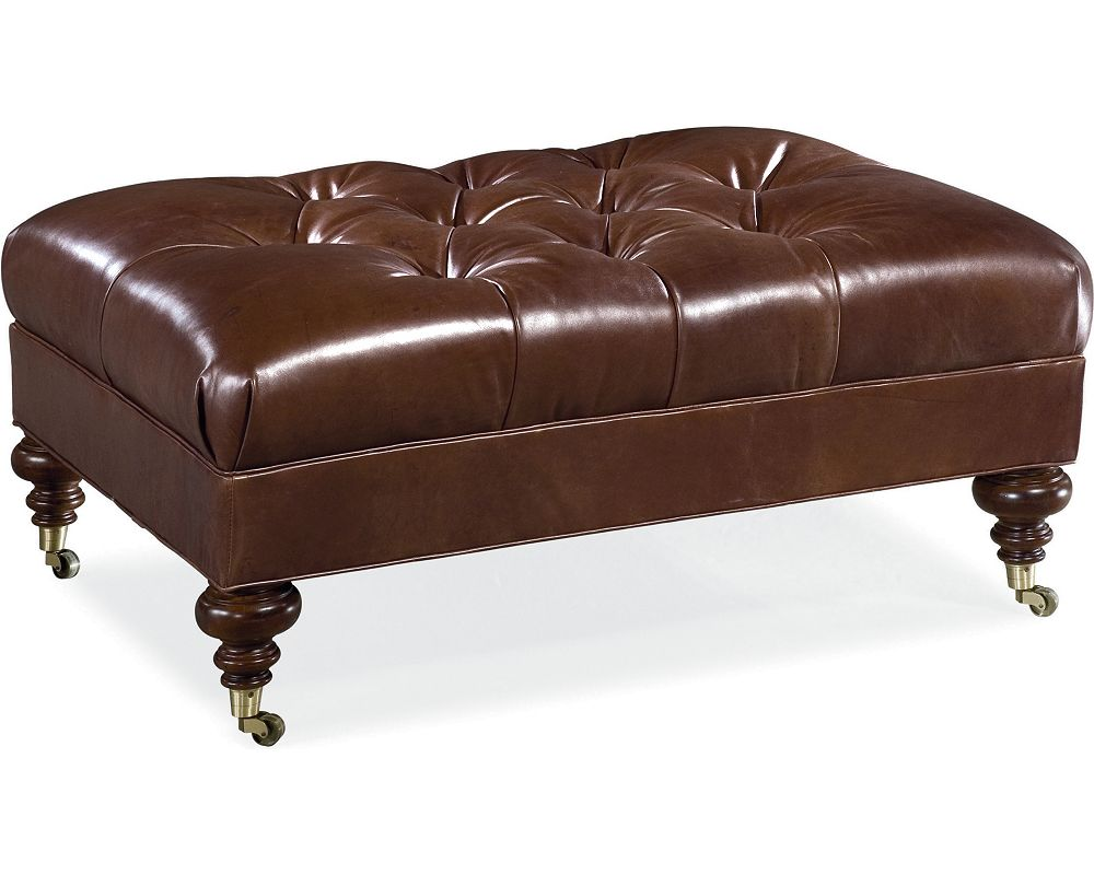 Leather Choices Regatta Ottoman