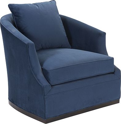 Sally Swivel Chair Living Room Furniture Thomasville Furniture
