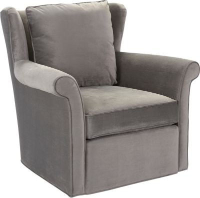 Delia Swivel Chair Living Room Furniture Thomasville Furniture