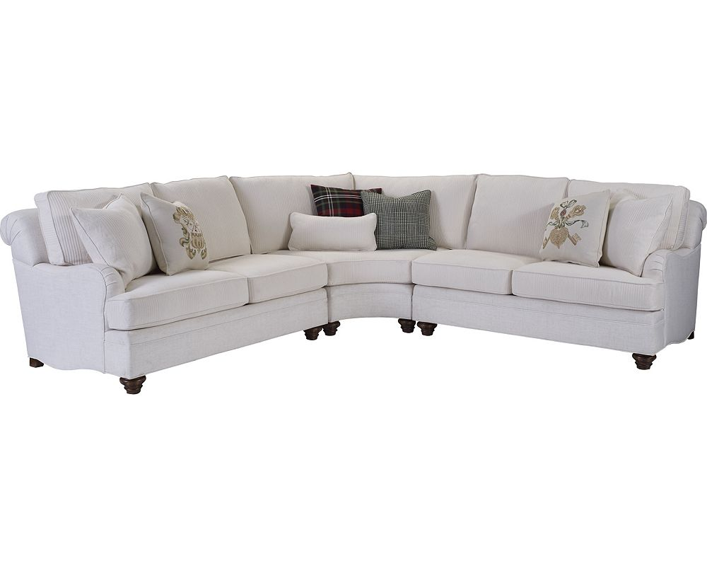 white inventory sofa pin thomasville sofas revival sectional curved pinterest home