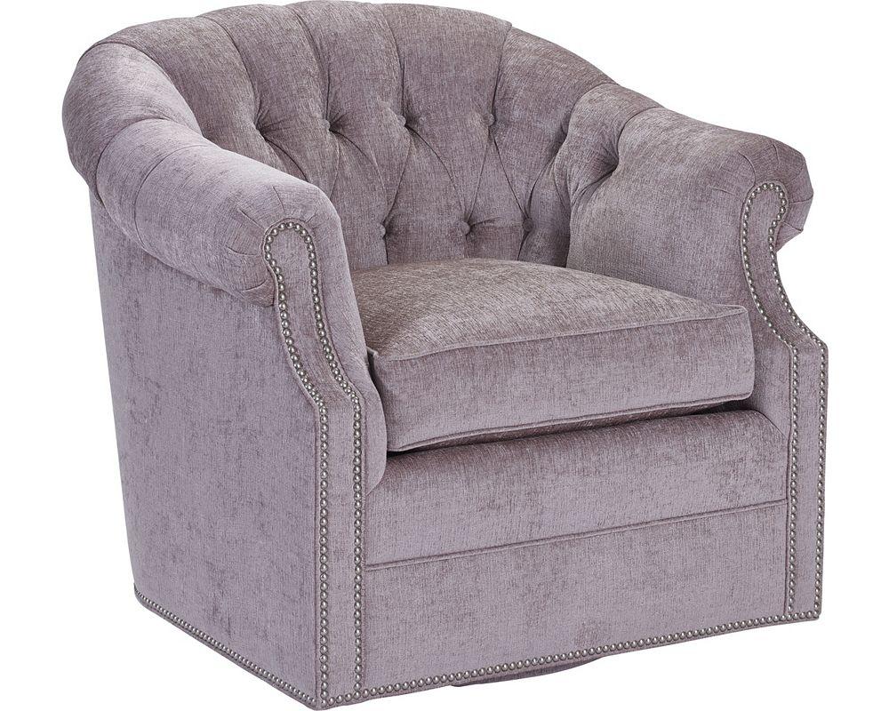 McCallan Swivel Chair (Fabric)