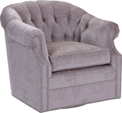 McCallan Swivel Chair (Fabric)  sc 1 st  Thomasville Furniture : chaise armchair - Sectionals, Sofas & Couches