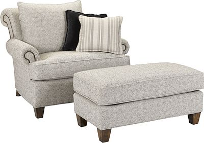 shipley chair and a half | thomasville furniture