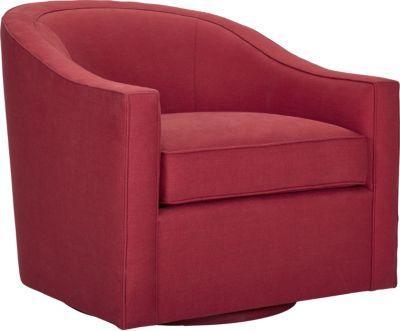 Anthony Baratta Rocco Swivel Chair (Fabric)
