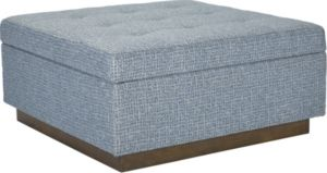 Anthony Baratta Neal Square Storage Ottoman