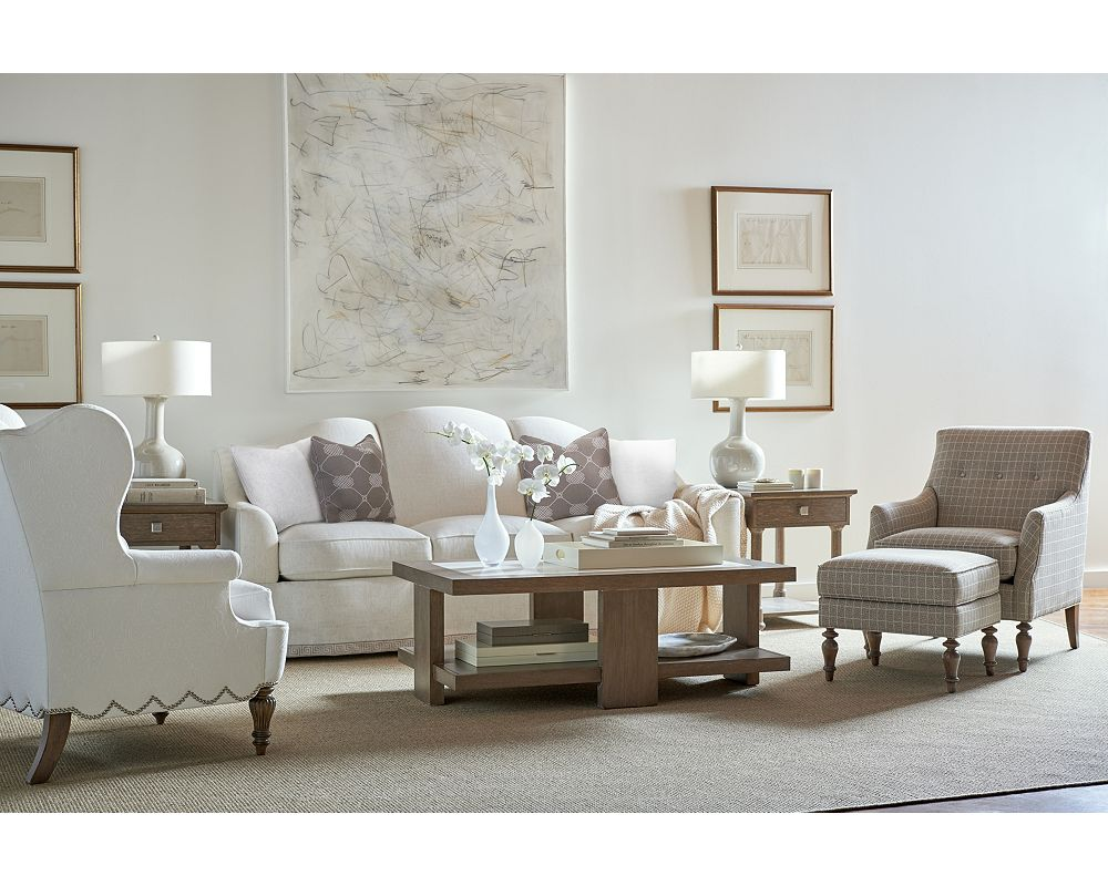 Anthony baratta rosehill sofa thomasville furniture for Anthony baratta luna upholstered bed