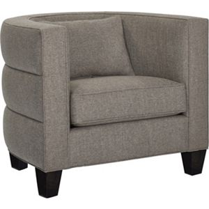 Riley Barrell Chair (Fabric)