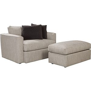 ED Ellen DeGeneres Ladera Ottoman and a Half Crafted by Thomasville
