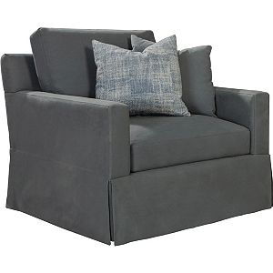 ED Ellen DeGeneres Eden Swivel Chair and a Half Crafted by Thomasville