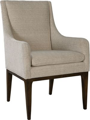 ED Ellen DeGeneres Dabney Arm Chair with Legs Crafted by Thomasville