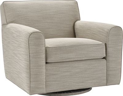 Ernest Hemingway® Spender Swivel Chair (Fabric)