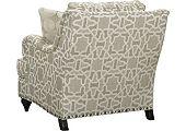 Thomasville chair, Langham chair, Living Room Furniture, living room, furniture, nail trim, comfortable chair