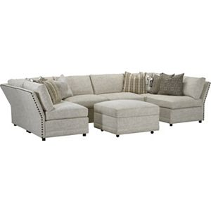 Marshall Modular Sectional with Nail Trim