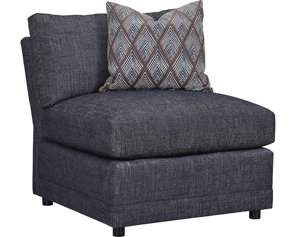 Marshall Armless Chair (No Nails)