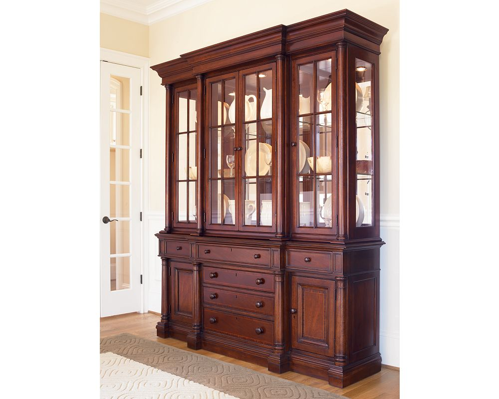 Breakfront China Cabinet Dining Room Furniture Thomasville Furniture