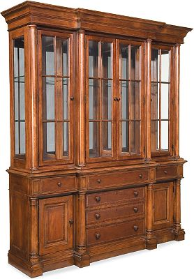 Breakfront China Cabinet | Dining Room Furniture ...