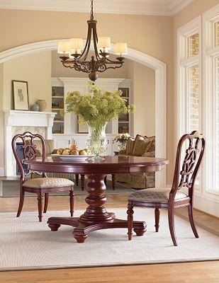 Fredericksburg Side Chair Whiskey Thomasville Furniture