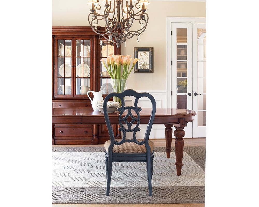 Oval Dining Table  Zoom InOval Dining Table   Dining Room Furniture   Thomasville Furniture. Oval Dining Room Furniture. Home Design Ideas