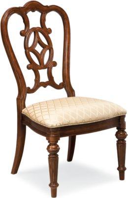Marvelous Fredericksburg Side Chair (Whiskey)