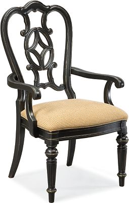 Fredericksburg Arm Chair (Ebony)