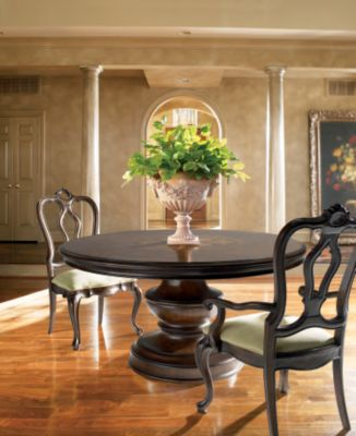 elba round dining table dining room furniture thomasville furniture rh thomasville com Thomasville Dining Table thomasville kitchen table