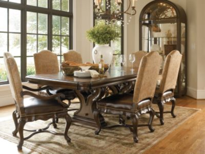 Bibbiano Trestle Dining Table | Dining Room Furniture | Thomasville  Furniture