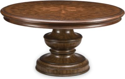 Elba Round Dining Table Dining Room Furniture Thomasville