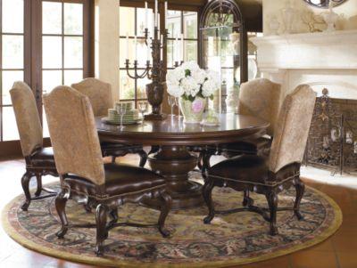 elba round dining table dining tables dining room thomasville rh thomasville com