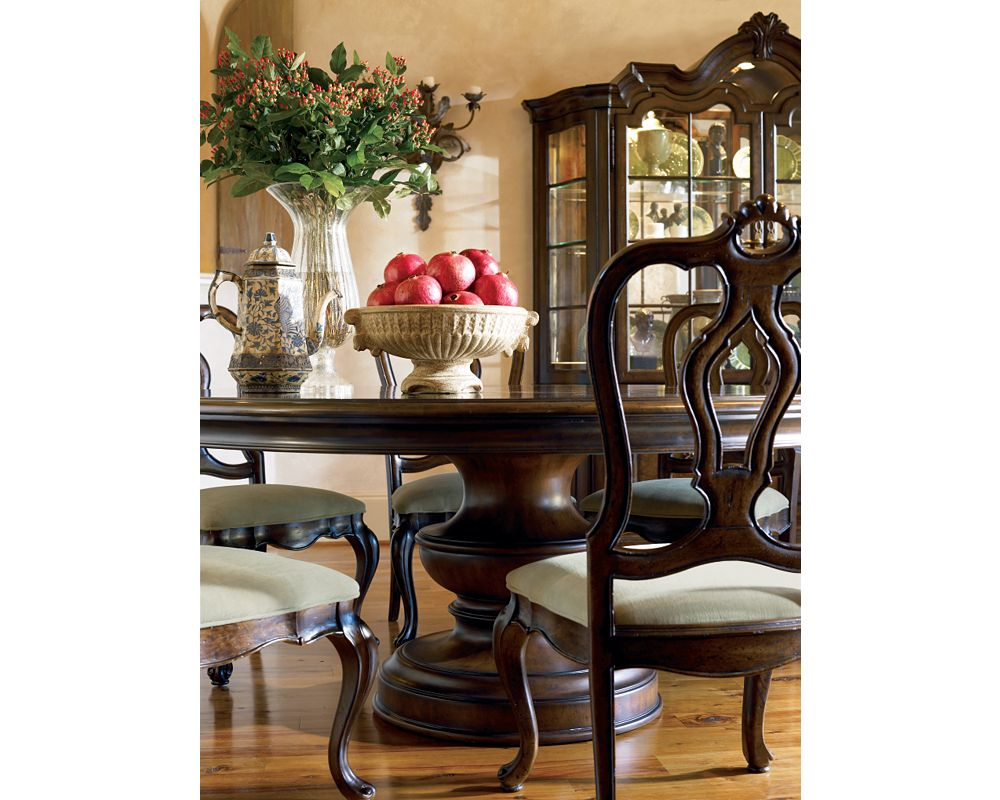 Elba Round Dining Table Thomasville Furniture