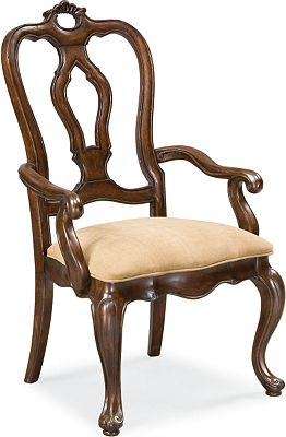 San Martino Arm Chair (Dark Rustico)
