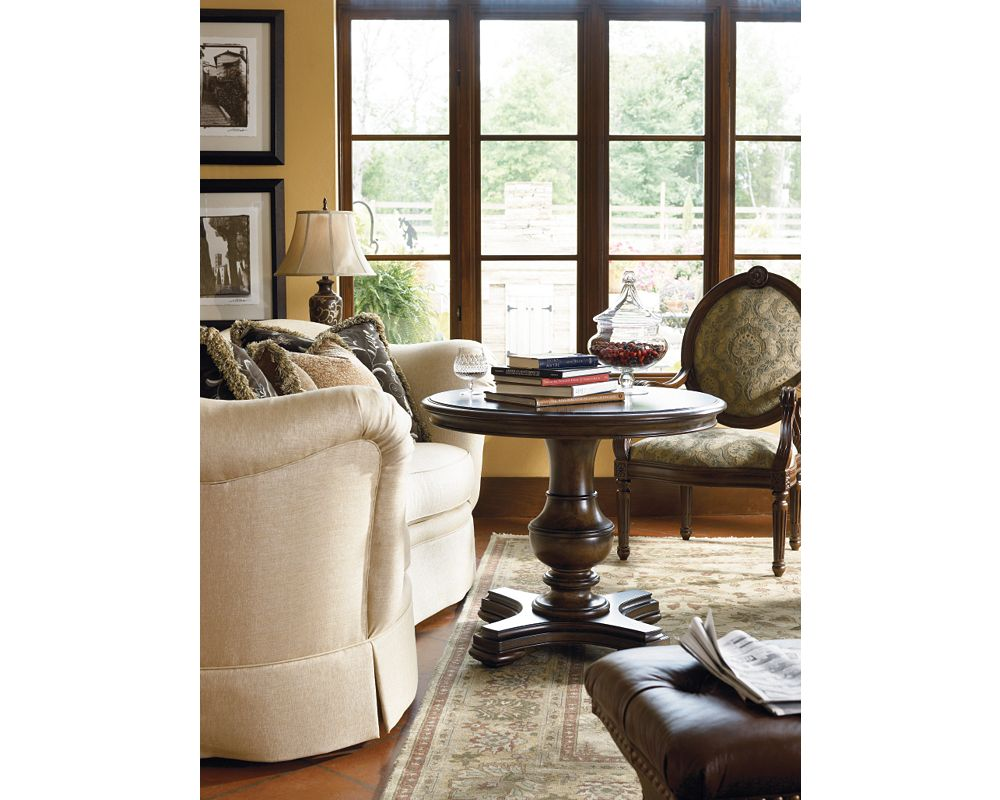 Chianti Round End Table Living Room Furniture