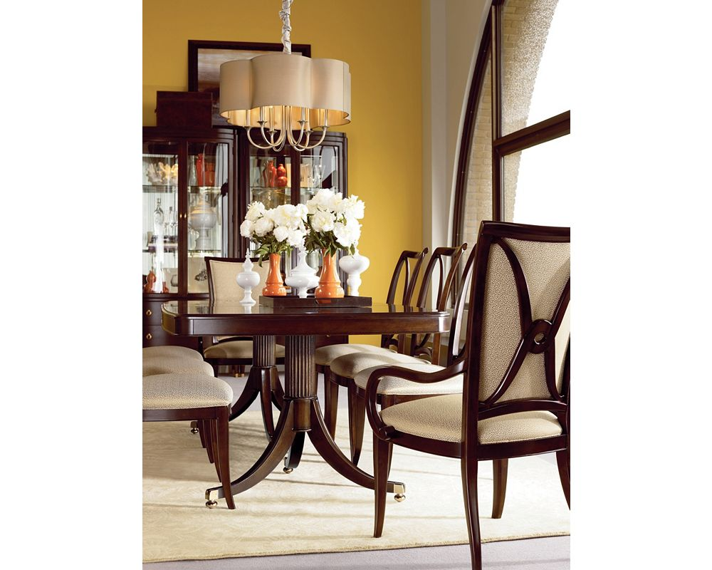 Double Pedestal Dining Table | Dining Room Furniture | Thomasville ...