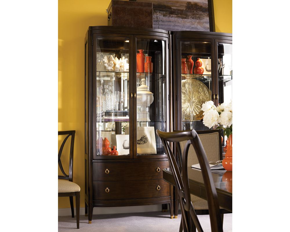 bunching curio cabinet dining room furniture thomasville furniture