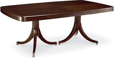 Studio 455 Double Pedestal Dining Table