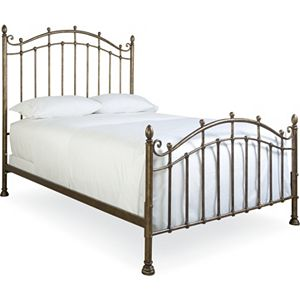 Vintage Chateau Metal Bed