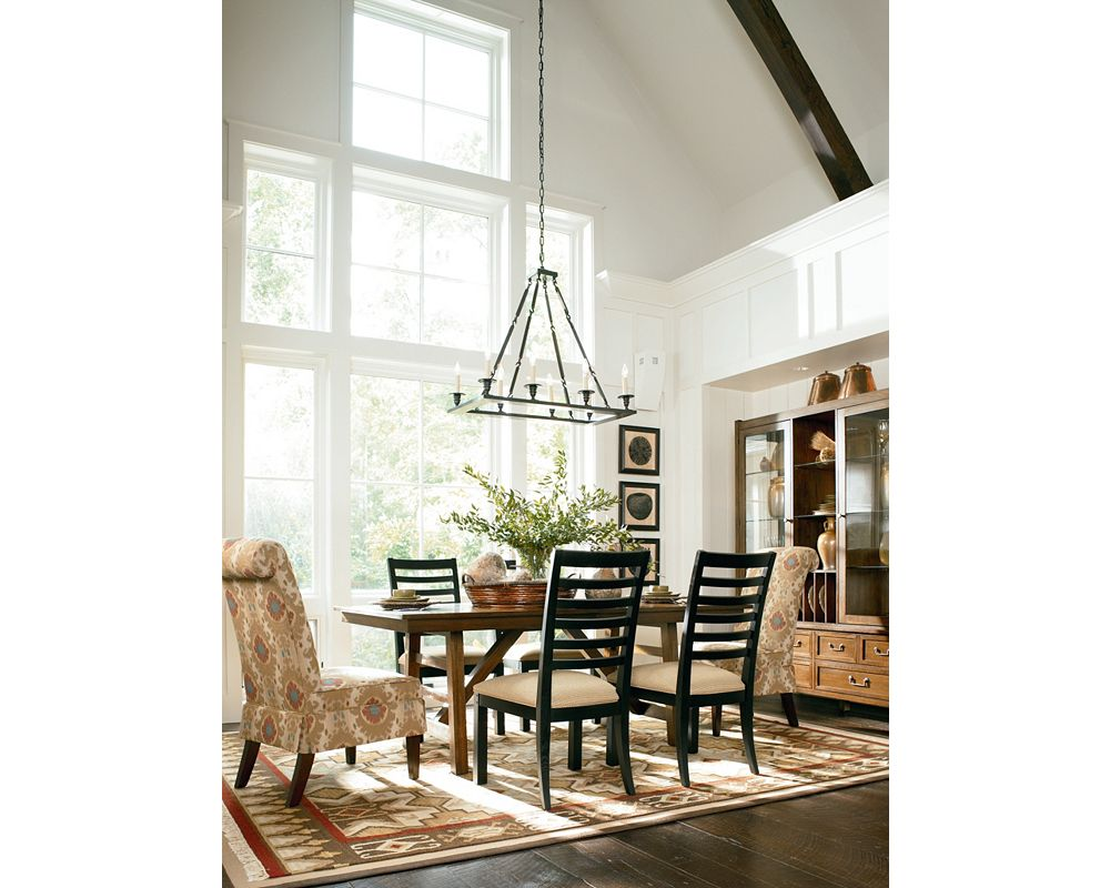 Jaydn Dining Chair with Skirt | Living Room Furniture | Thomasville ...