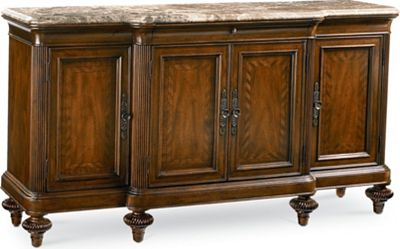marble top buffet table Ernest Hemingway® Preserve Buffet (Marble Top) | Thomasville Furniture marble top buffet table