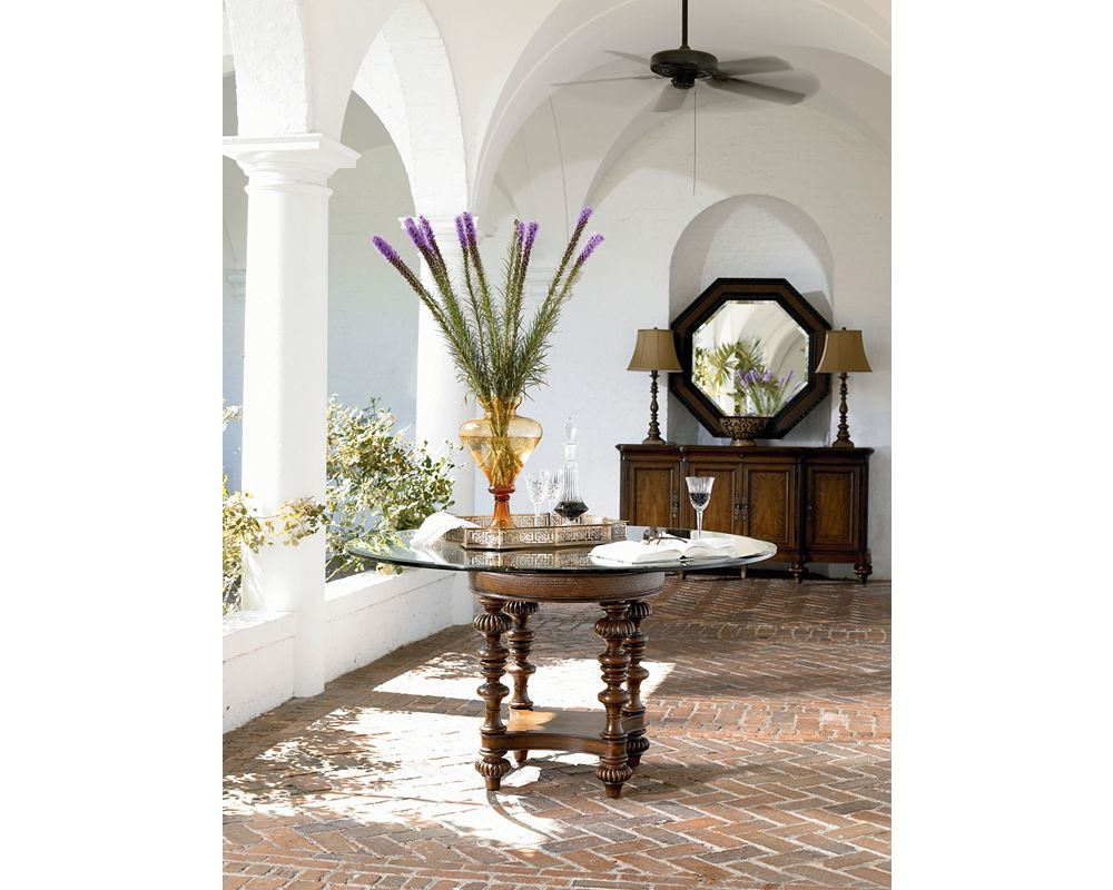 Pepica Table Base Dining Room Furniture Thomasville