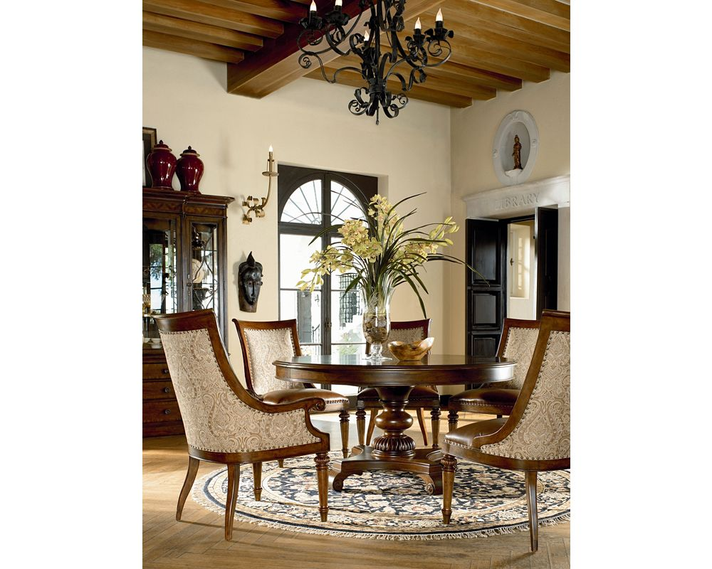 Rift Valley Round Dining Table Room Furniture Thomasville
