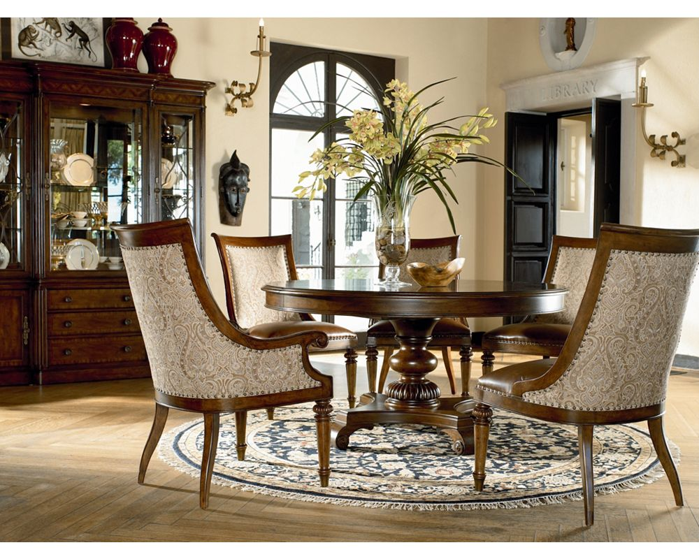 Wood dining room furniture sets thomasville furniture for Dining room tables thomasville