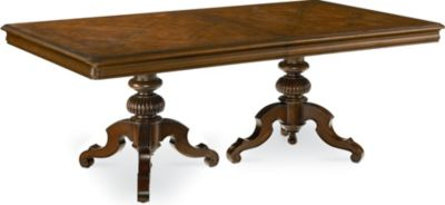 Delightful Ernest Hemingway® Castillian Double Pedestal Table