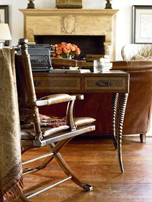 Ernest Hemingway 174 Safari Desk Chair Thomasville Furniture