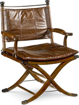 Leather safari chair - Ernest Hemingway 174 Safari Desk Chair Thomasville Furniture