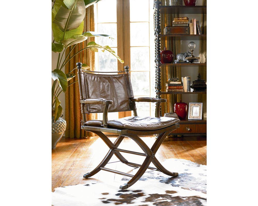 Ernest Hemingway Safari Desk Chair Zoom In