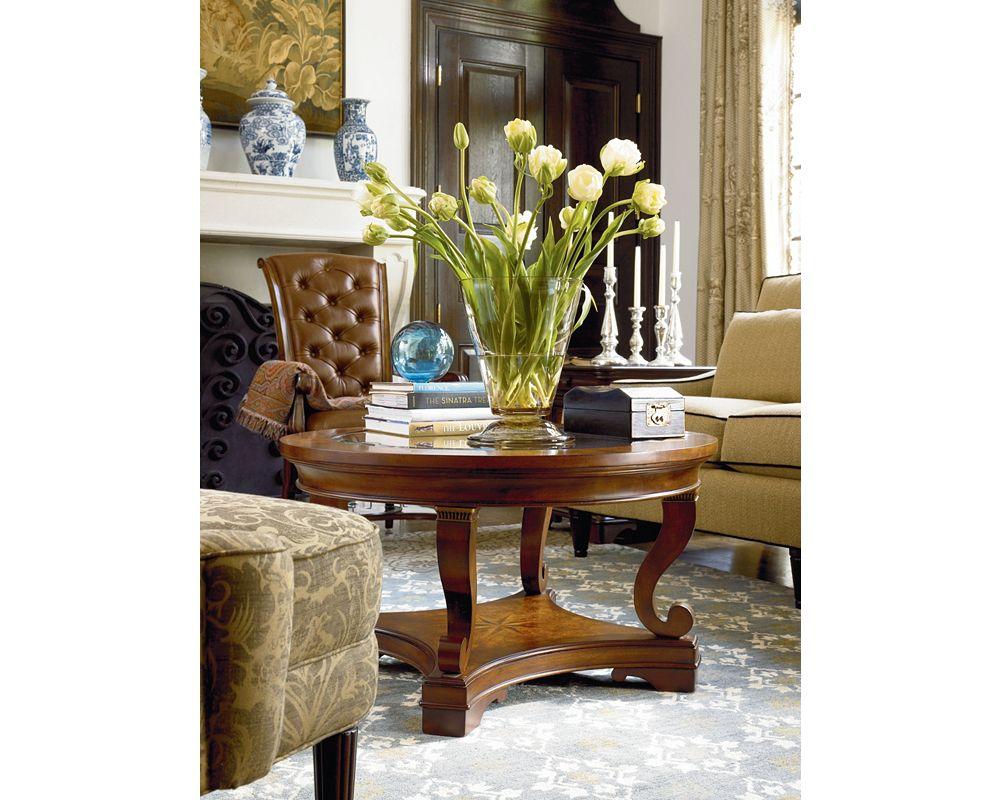 Deschanel Round Cocktail Table Thomasville Furniture