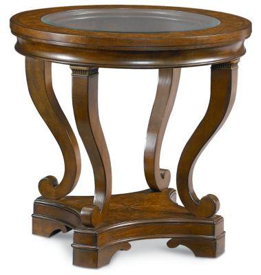 Incroyable Deschanel Round Lamp Table