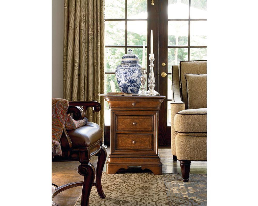 Deschanel Chairside Chest Thomasville Furniture
